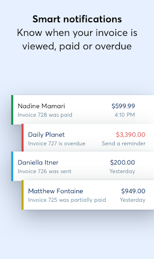 Wave Invoicing modavailable screenshots 5