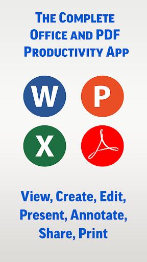 SmartOffice - View & Edit MS Office files & PDFs 3.9.10 Screenshots 1