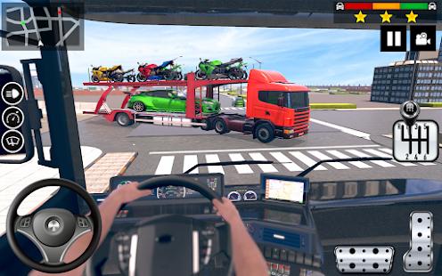 Car Transporter Truck Simulator-Carrier Truck Game 1.7.3 Screenshots 3