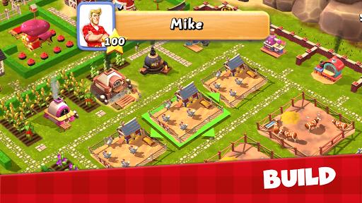 Happy Town Farm Games - Farming & City Building  screenshots 4