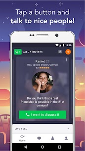 Wakie: Text and voice chat 1