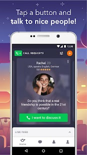 Wakie: Text and voice chat Screenshot