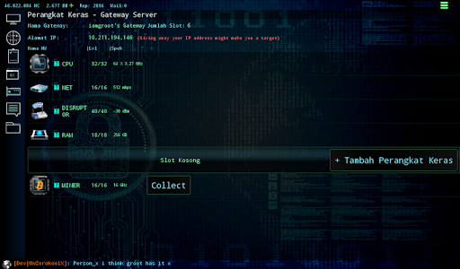 Hackers Online (MMO Simulator)  Screenshots 11