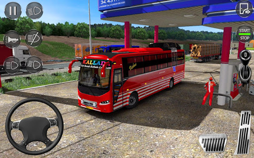 Euro Coach Bus Simulator 2020 : Bus Driving Games  Screenshots 8