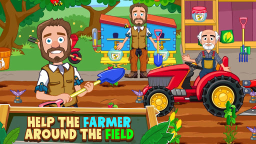 My Town : Farm Life Animals Game  for Kids Free 1.07 screenshots 5