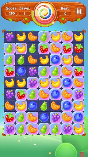 Fruit Melody - Match 3 Games Free 2021  apktcs 1