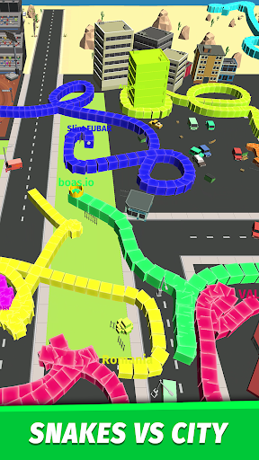 Boas.io Snake vs City 1.5.50 screenshots 3