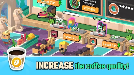 Idle Coffee Corp (MOD, Unlimited Money) 2