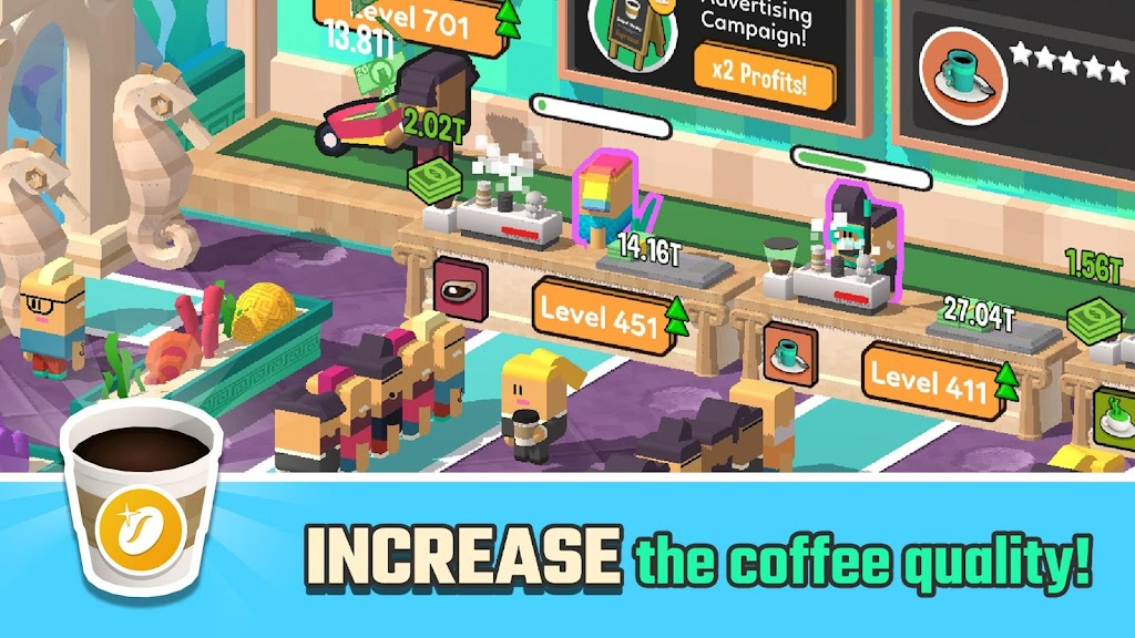 Idle Coffee Corp  poster 2
