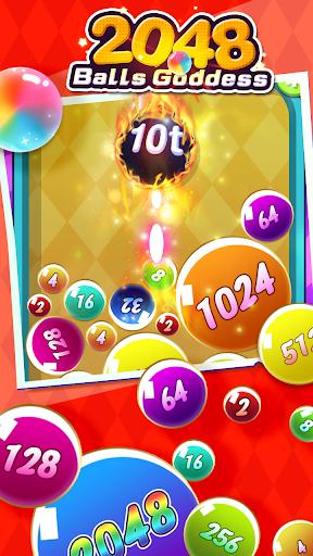 2048 Balls Goddess apkpoly screenshots 4