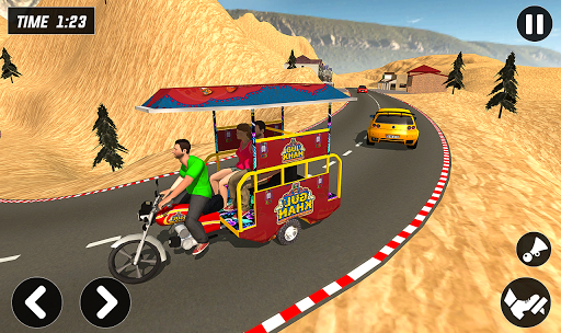 Chingchi Rickshaw Game:Tuk Tuk Parking Simulator screenshots 8