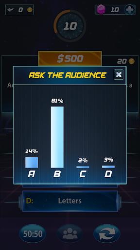 Millionaire Trivia GK android2mod screenshots 4