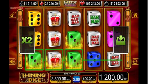 shining crown dice slot screenshot 3