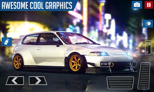 Drifting and Driving Simulator: Honda Civic Game 2 2.0 screenshots 5