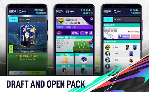 Draft 21 and Pack Opener screenshots 1
