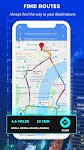 screenshot of GPS Navigation: Road Map Route