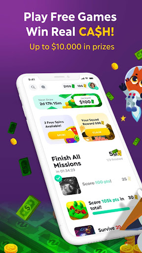 GAMEE Prizes - Play Free Games, WIN REAL CASH! 4.8.4 screenshots 1
