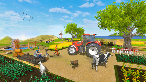 Real Farming Tractor Farm Simulator: Tractor Games apkmr screenshots 9