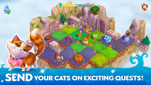 Cats & Magic: Dream Kingdom  screenshots 4