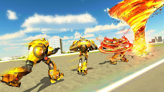 Grand Tornado Robot Car Transform: War Robot Games 1.3.5 Screenshots 12