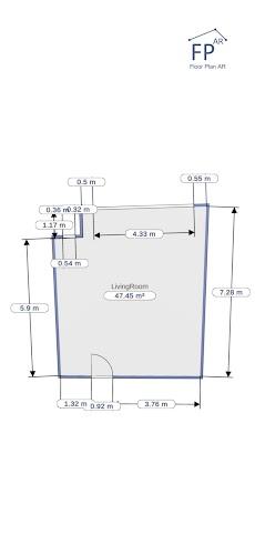 フロアプランAR |部屋の測定のおすすめ画像4