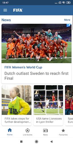 FIFA - Tournaments, Soccer News & Live Scores  Screenshots 1