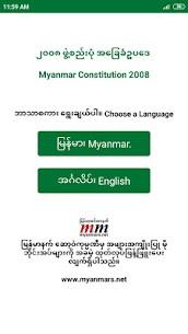 Myanmar Constitution 2008 2