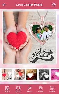Love Photo Frames - Love Locket Photo Editor Screenshot