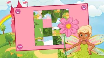 Kids Princess Sliding Puzzle Free