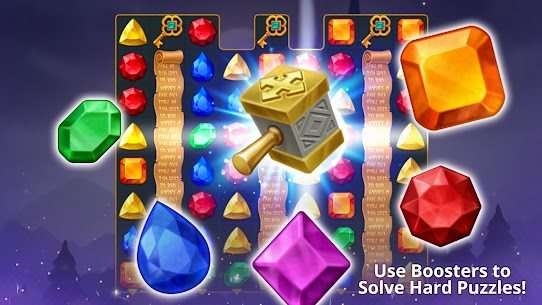 Jewels Magic Mod Apk: Mystery Match3 (Automatically Clear Stage) 1