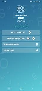Accumulator PDF creator 1.42 Apk 4
