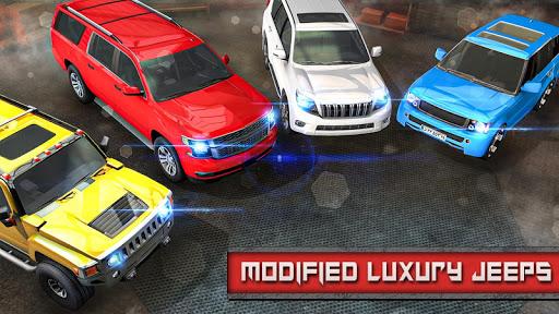 Crazy Taxi Jeep Drive: Jeep Driving Games 2020 apkslow screenshots 4