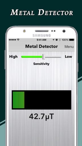 Genuine Metal Detector : Real Metal Finder App  screenshots 4