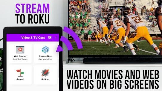 Video  TV Cast   Roku Remote  Movie Stream App Apk Download 4