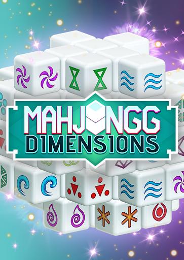 Mahjongg Dimensions: Arkadiumu2019s 3D Puzzle Mahjong apktram screenshots 1