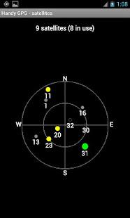 Handy GPS (free) screenshots 6