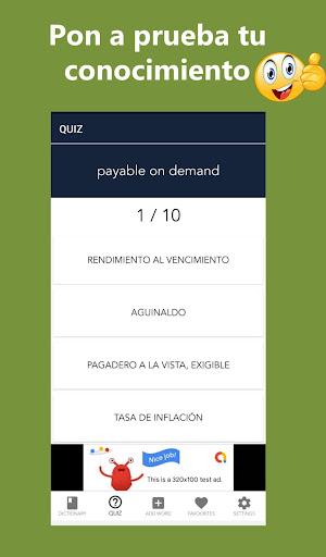 Diccionario Contable Ingles espau00f1ol  screenshots 5