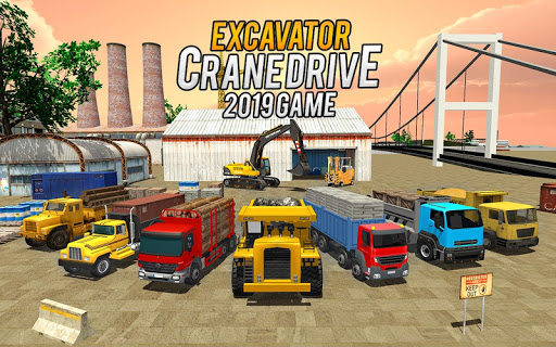 Heavy Excavator Crane Game Construction Sim 2019 apkdebit screenshots 8