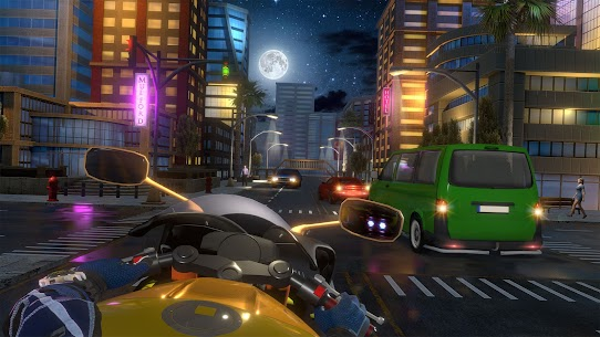 Bedava motor Trafik Binici  otoyol Sürme Oyunlar Apk 2021 3
