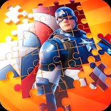 Super Jigsaw Superhero Puzzle Game APK