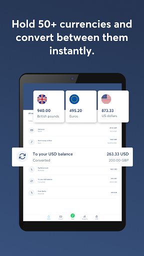 Wise, ex TransferWise android2mod screenshots 7