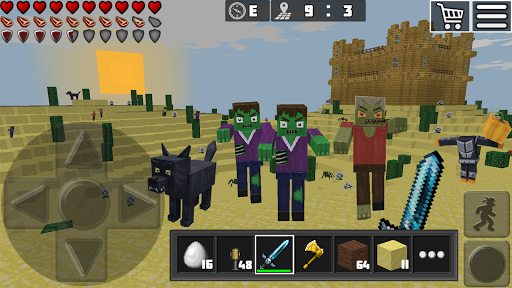 WorldCraft: 3D Build & Block Craft 3.7.1 Screenshots 12