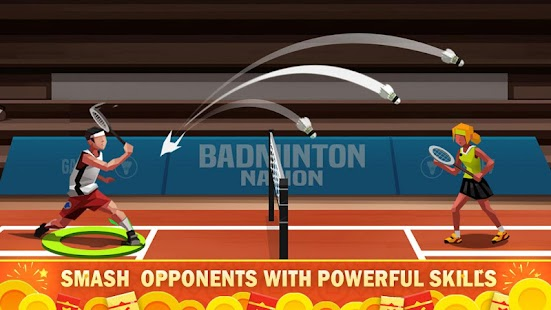 Badminton League Screenshot
