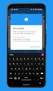 zFont Tool Mod Apk- Font Color, Merger, Remover, Emoji (No Ads) 6