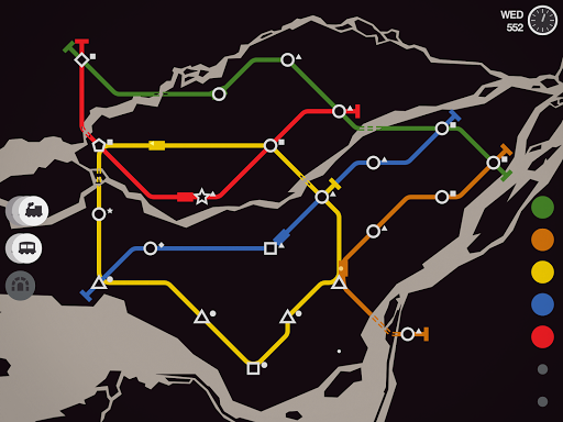 Mini Metro Varies with device screenshots 17