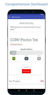 CCRN Adult Practice Test 2021