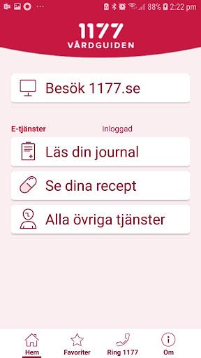 1177 Vu00e5rdguiden 1.0.5 Screenshots 1