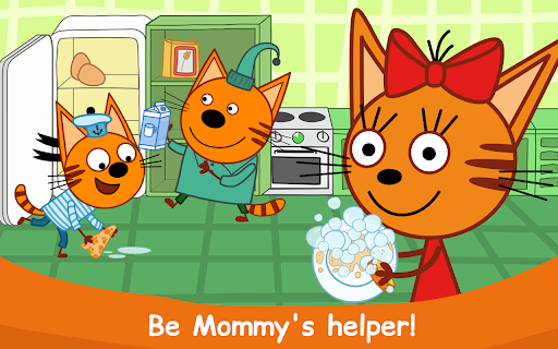 Kid-E-Cats: Cooking for Kids with Three Kittens!  screenshots 19