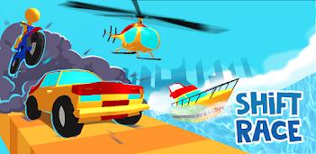 Jouez à Shift Race : jeu de course épique en 3D sur PC, le tour est joué, pas à pas!