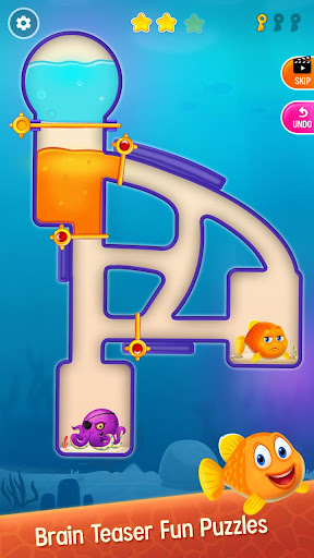 Save the Fish - Pull the Pin Game android2mod screenshots 2